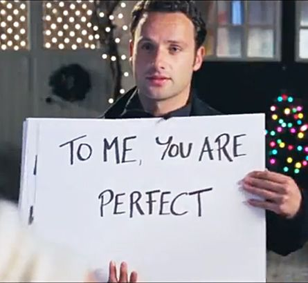 we all think andrew lincoln 39 s character in love actually is creepy even andrew lincoln. Black Bedroom Furniture Sets. Home Design Ideas