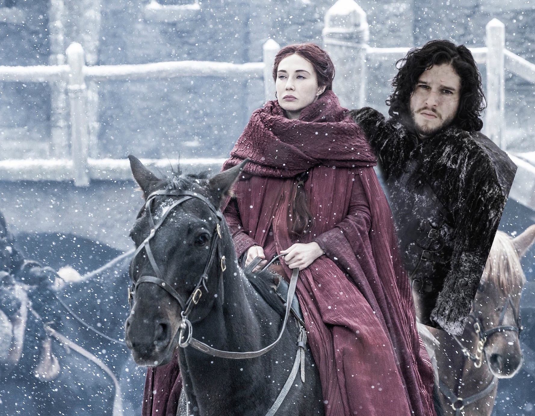 "We fixed the new ""Game of Thrones"" images to now include 100% more Jon Snow"