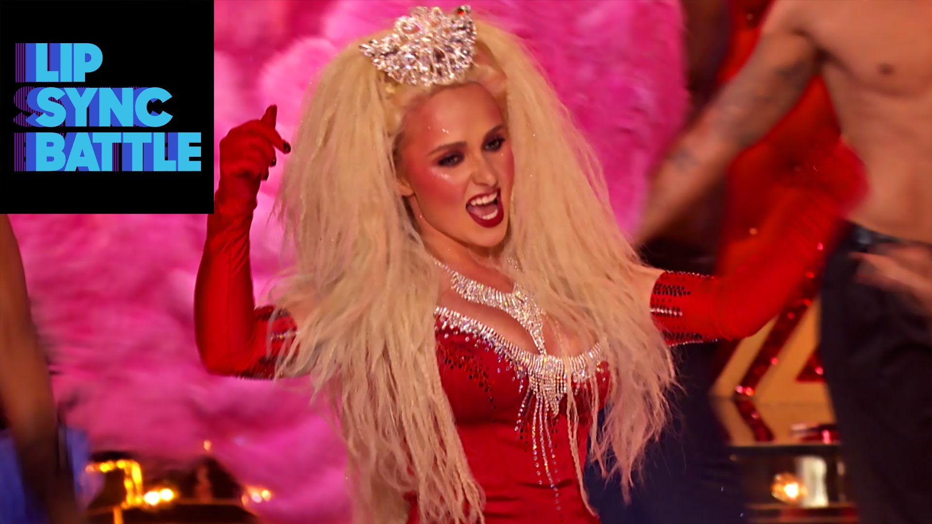 "We can't stop watching Hayden Panettiere lip sync ""Lady Marmalade"""