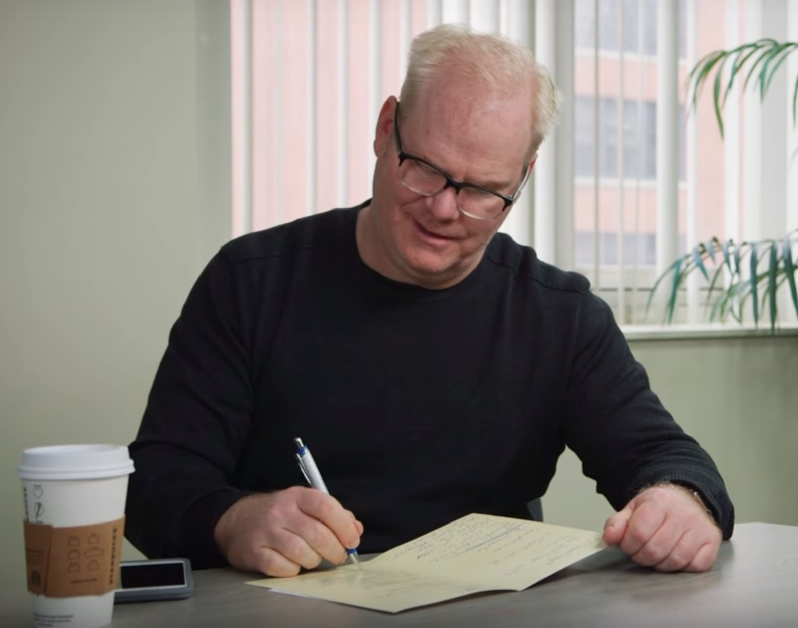 Jim and Jeannie Gaffigan wrote some honest Valentines for married couples