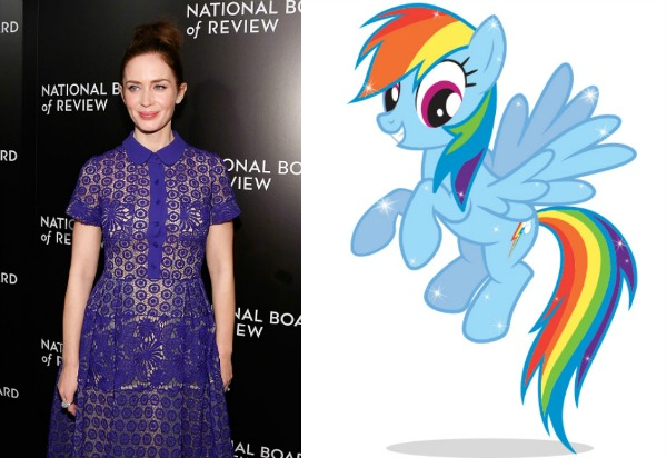 """Emily Blunt will be the most magical pony in """"My Little Pony"""""""