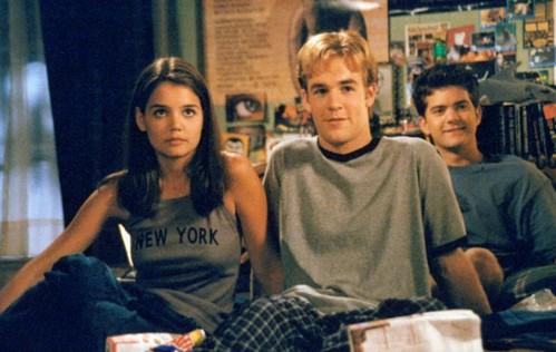 "Here's what Katie Holmes has to say about the idea of a ""Dawson's Creek"" reunion"