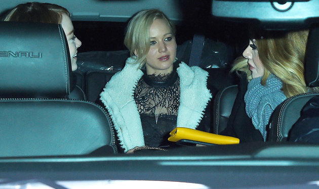 Jennifer Lawrence, Emma Stone and Adele are officially a squad
