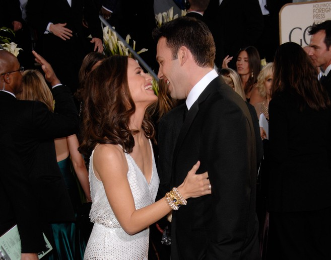 Jennifer Garner and Ben Affleck are spending Valentine's Day together in a truly beautiful way