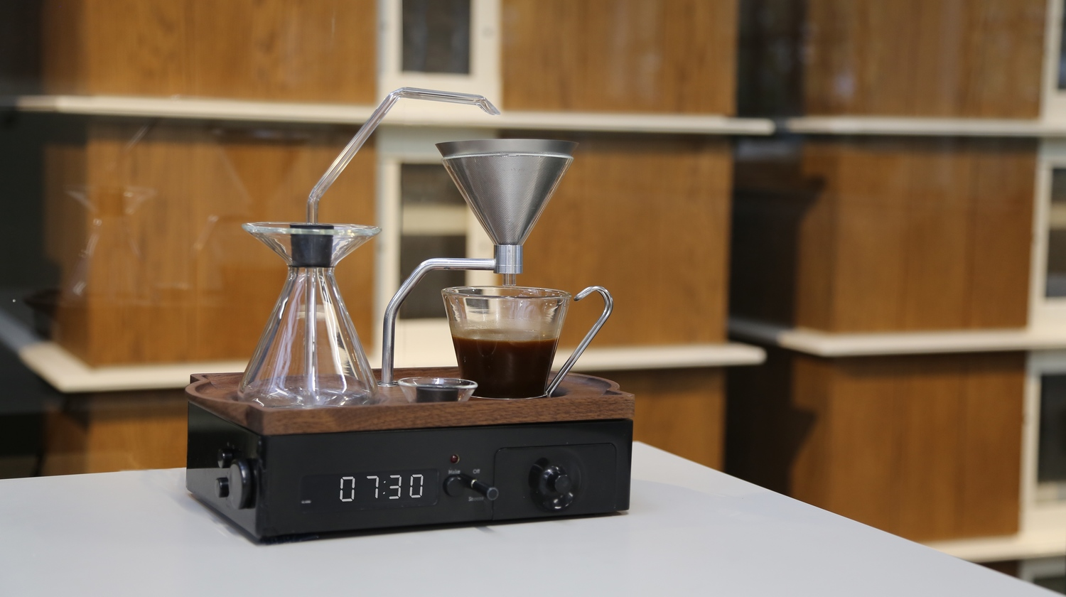 Coffee lovers might never oversleep again, thanks to this coffee-brewing alarm clock