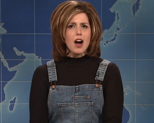 Vanessa Bayer just did the best Rachel Green impression ever on SNL