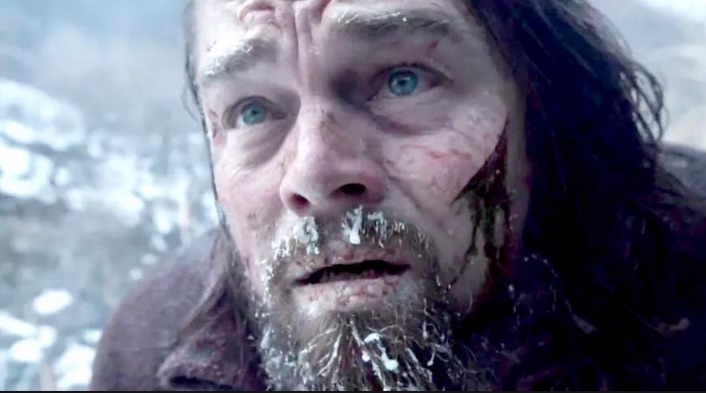 "Leo says it was colder filming ""The Revenant"" than that icy final scene in ""Titanic"""