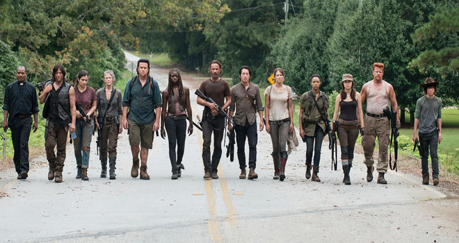 "The hilarious ""Walking Dead"" Honest Trailer reminds us what the show's really about: walking"