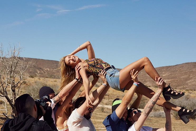 H&M is doing a Coachella collection, we're obviously way too excited
