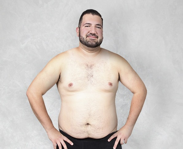 This man had his body Photoshopped by artists around the world to make a point about male beauty standards