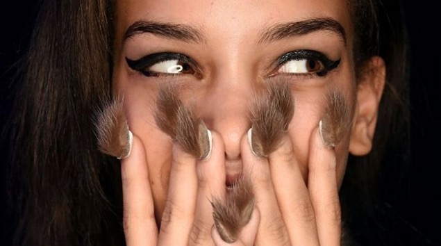 Furry nails are a thing and they're exactly as bizarre as they sound