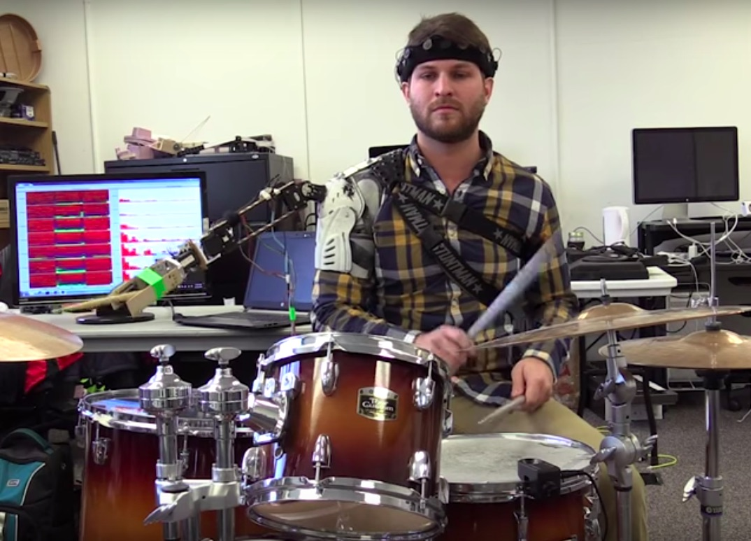 Researchers have invented a robotic arm for drummers, because, sure