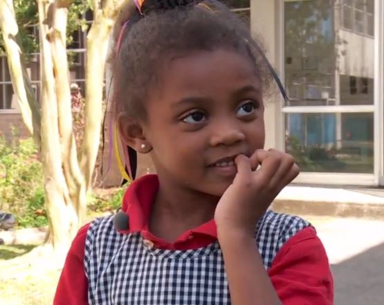 This 5-year-old girl just saved her blind grandma from a fire