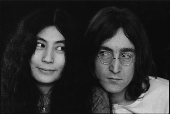 Someone just paid a LOT of money for some of John Lennon's hair