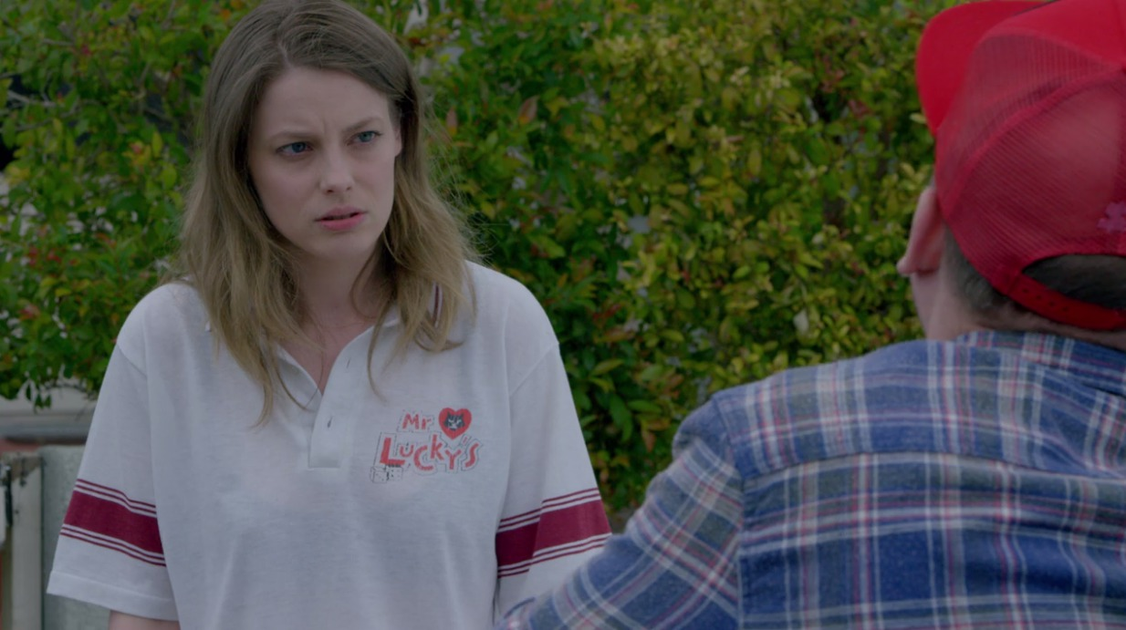 Picture of Gillian Jacobs Mr. Lucky's Polo
