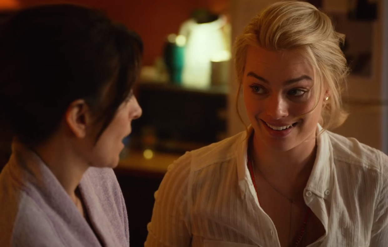 "We talked to Margot Robbie about becoming best friends with Tina Fey in ""Whiskey Tango Foxtrot"""