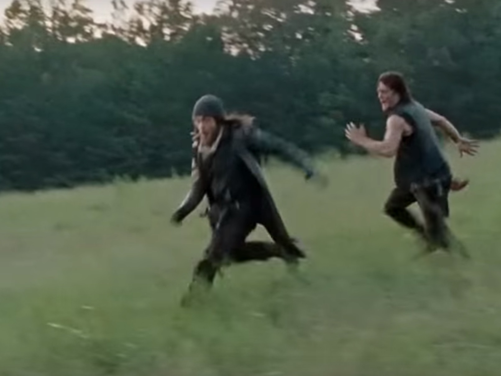 """The Walking Dead"" set to ""Yakety Sax"" is weirdly perfect"