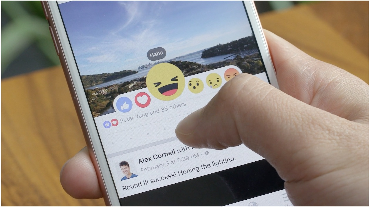 You can officially, finally do more than just like on Facebook