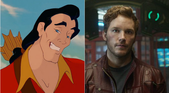Just like Gaston, Chris Pratt also eats a lot of eggs