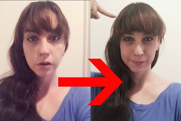 We found the magic hair product that will give you perfect bangs