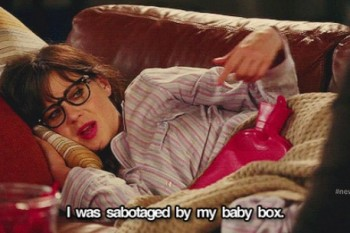 All of the struggles of having a very irregular period