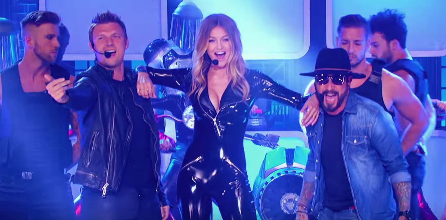 "Gigi Hadid lip-synced to the Backstreet Boys on ""Lip Sync Battle,"" won life"