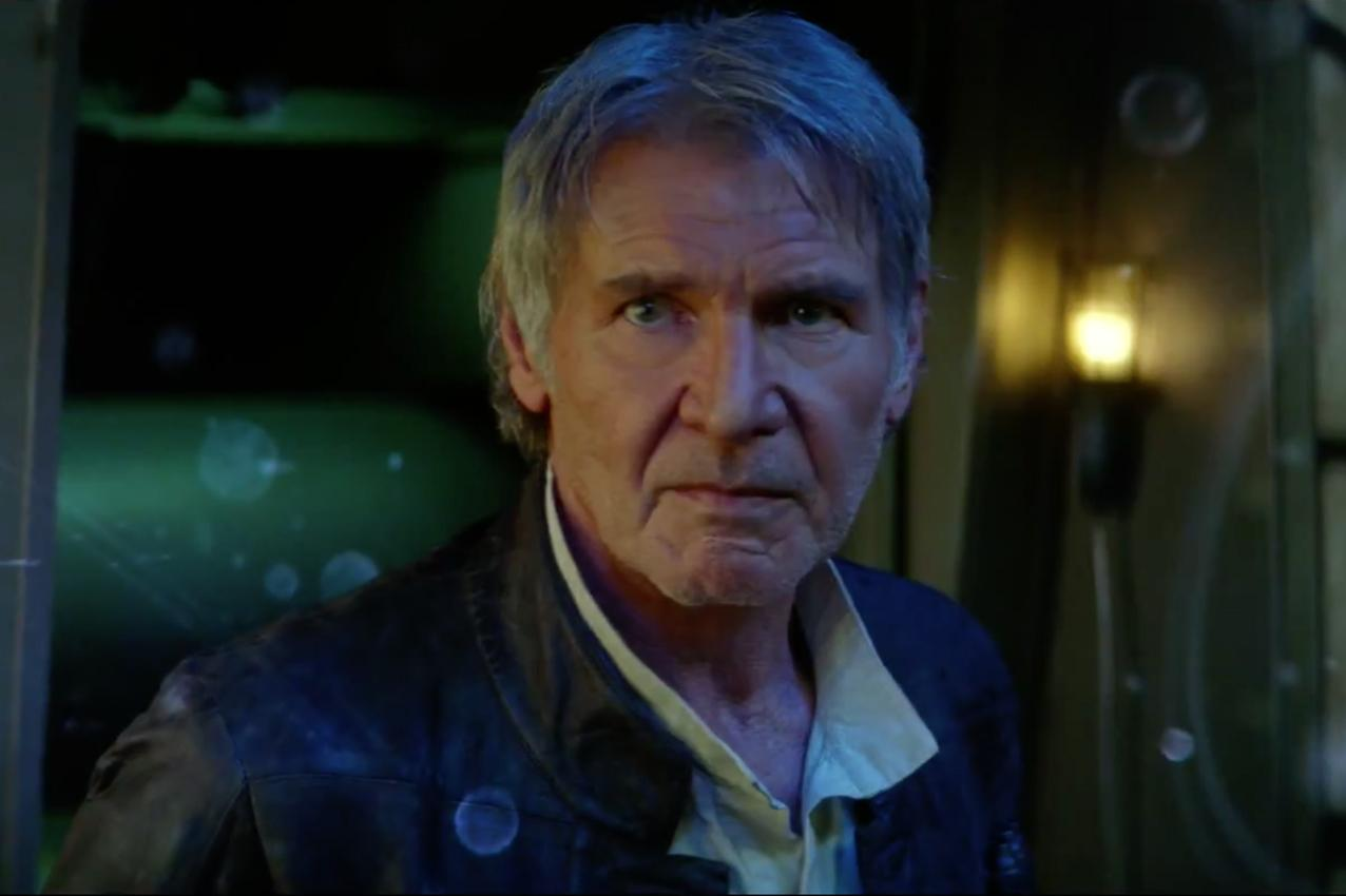"This is how Harrison Ford feels about what happened to Han Solo in ""Star Wars: The Force Awakens"""
