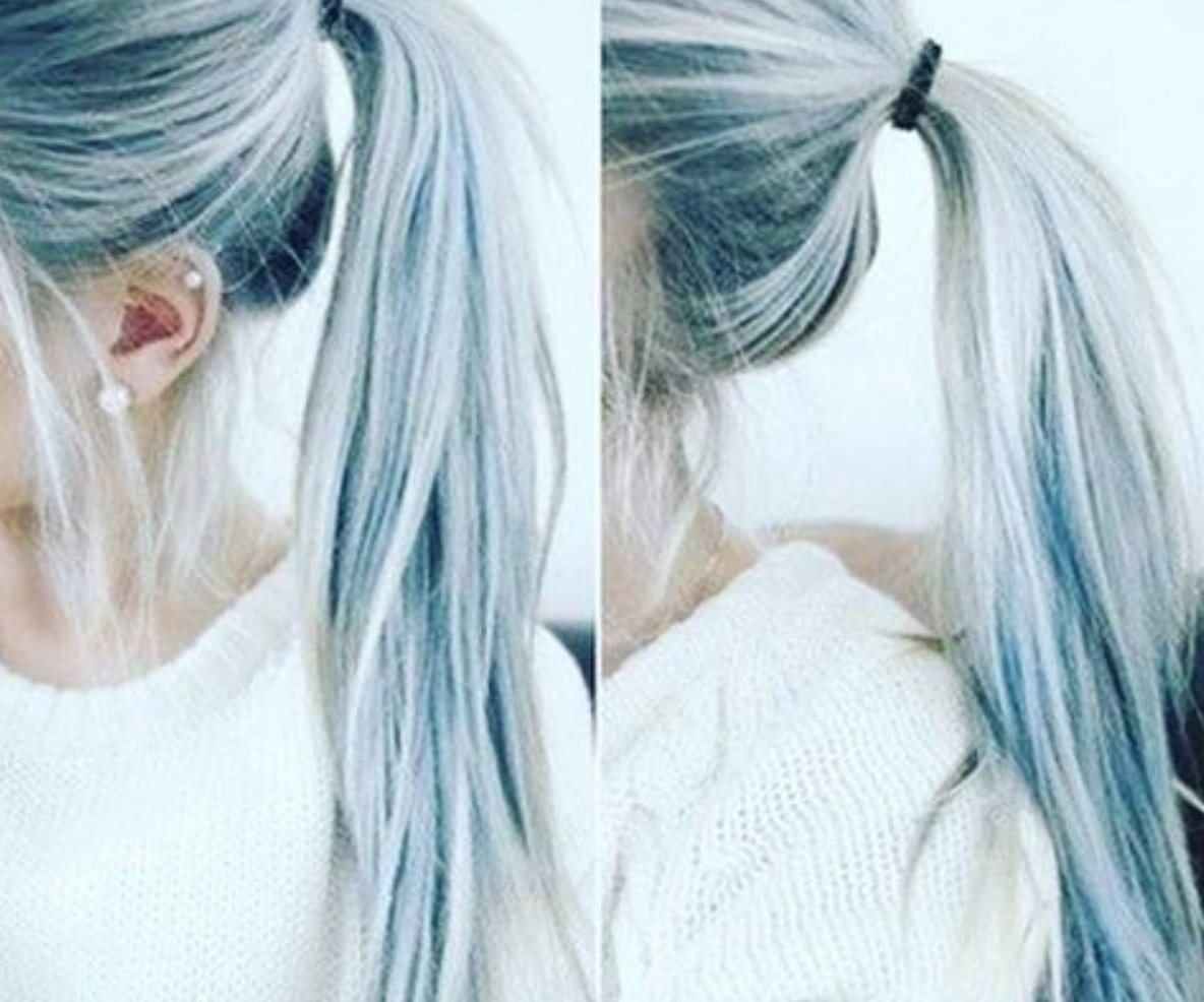 Denim Hair Is A Hair Color Trend That S Actually Gorgeous