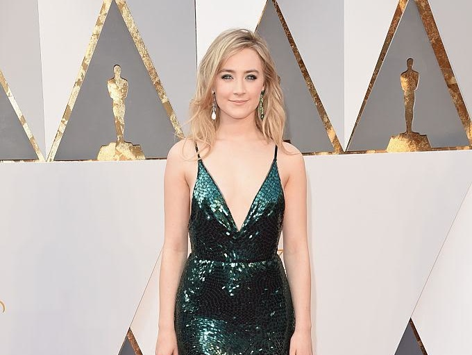 The real reason why Saoirse Ronan wore a green dress to the Oscars