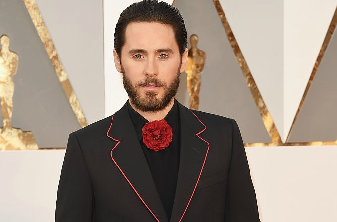 Jared Leto's Oscars look is the stuff of middle school dance dreams