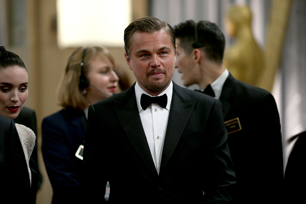Leonardo DiCaprio brought the best date to the Oscars