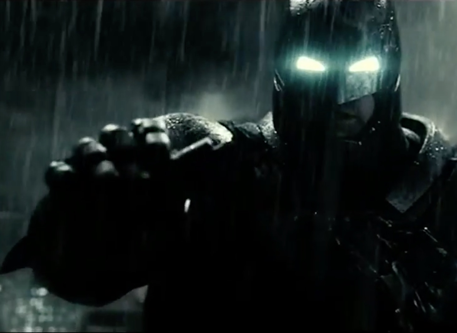 "This new ""Batman v Superman"" footage is intense"