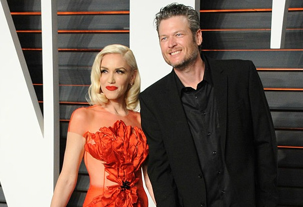 Gwen Stefani and Blake Shelton looked amazing at their first red carpet event together