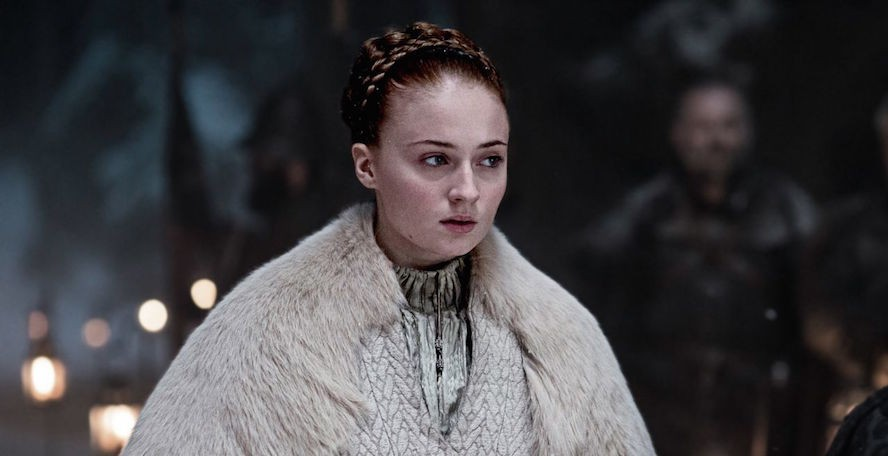 "Sophie Turner revealed a major ""Game of Thrones"" spoiler at the Oscars"