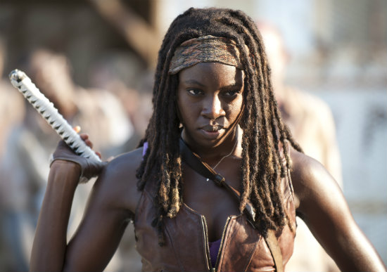 are michonne and daryl dating in real life
