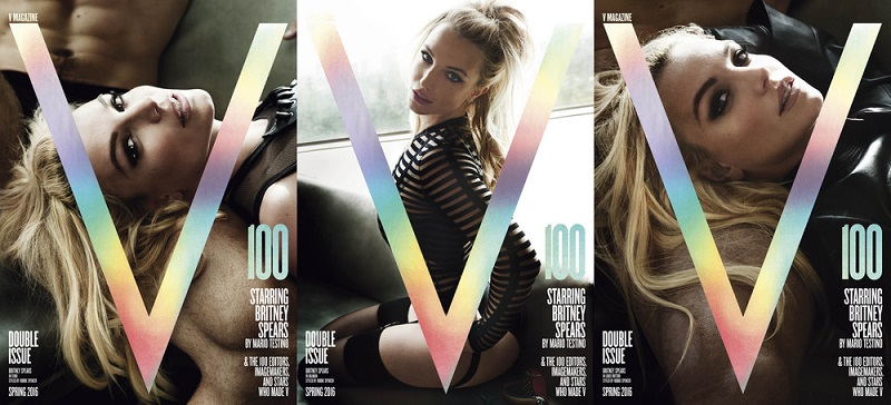 "Britney Spears looks amazing on the new ""V Magazine"" cover"