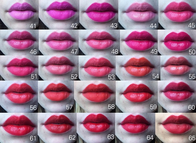 This woman took 97 lipstick selfies and the result will give you new beauty goals