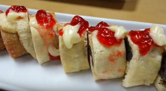 Dunkin' Donuts sushi is a thing that exists, because the Internet is the best