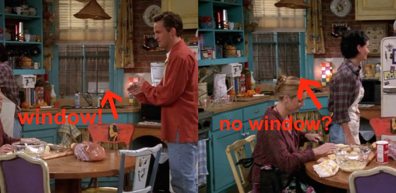 Here S One Thing You Never Noticed About Monica S Apartment On Quot Friends Quot
