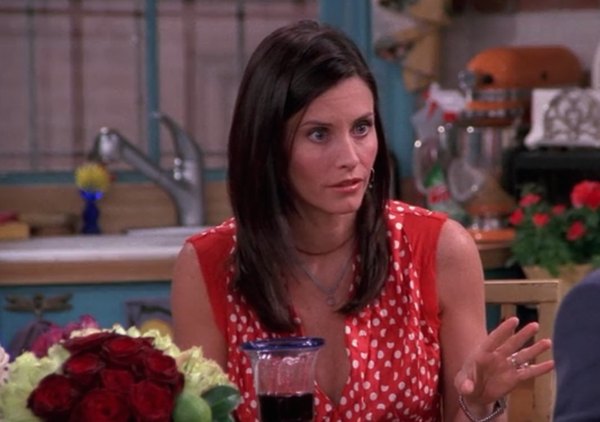 "Here's one thing you never noticed about Monica's apartment on ""Friends"""