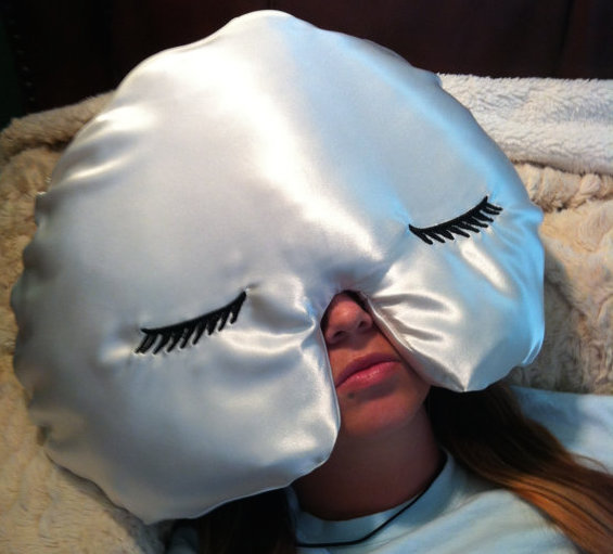 Finally get a good night's sleep with this unbelievably cute sleep mask