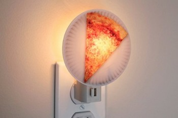 Things we need: This pizza night light