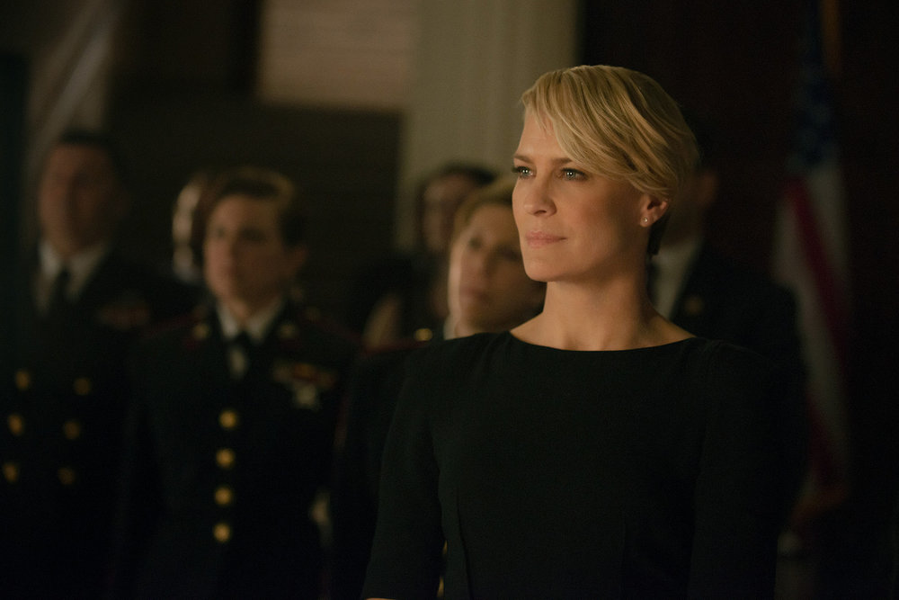 """How we'll be seeing a totally new side of Claire Underwood in this season of """"HoC"""""""