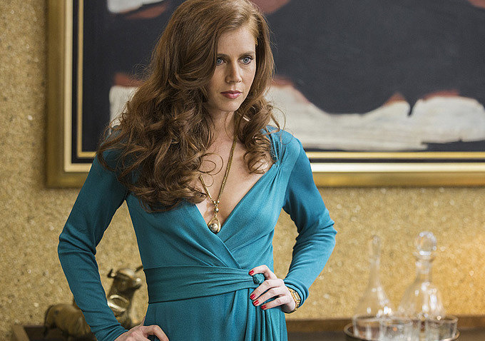 "Amy Adams says she knew she was making less than her male costars on ""American Hustle"""