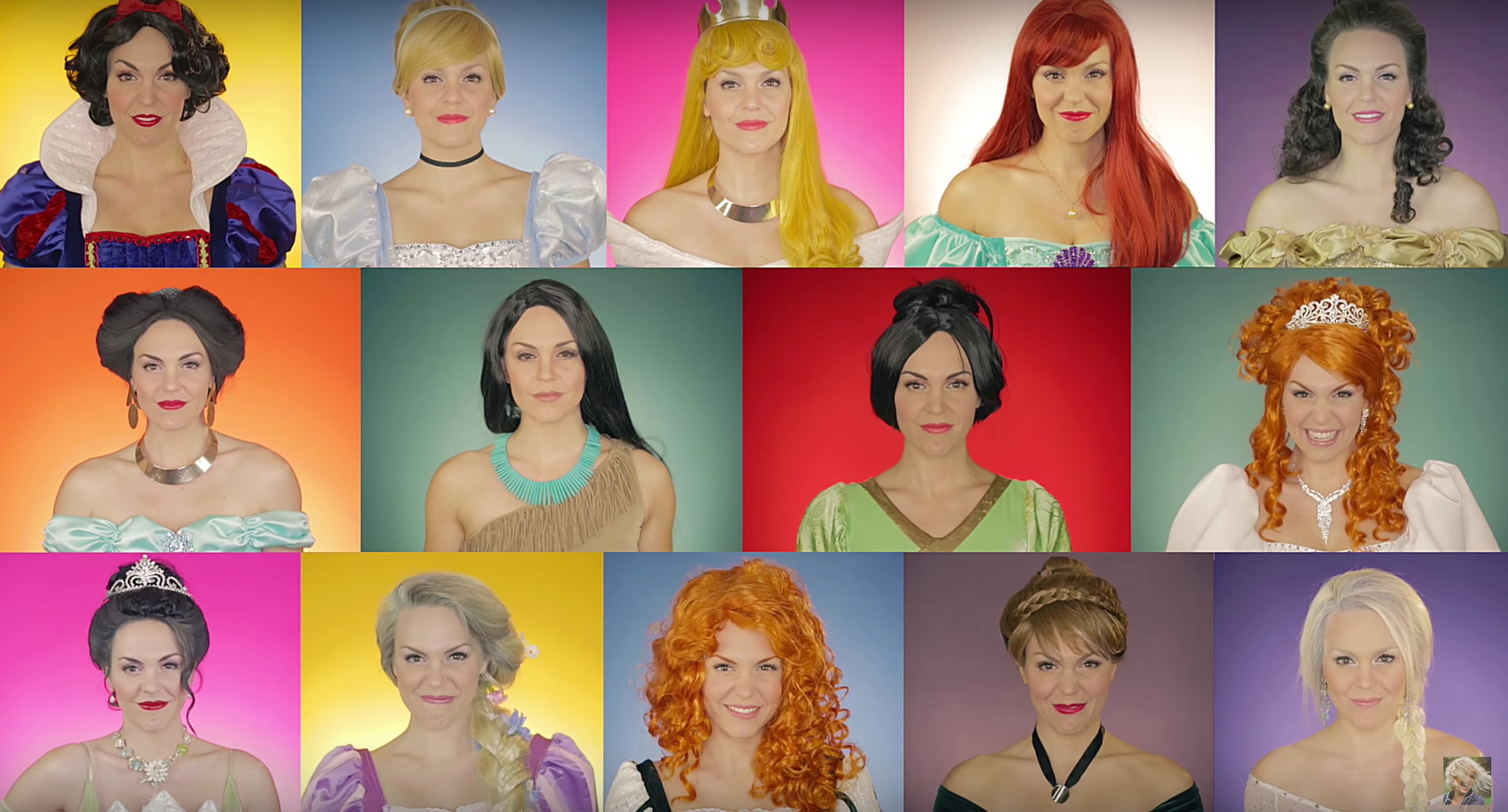 This woman's medley of all the Disney princess songs perfectly illustrates how the princesses have evolved