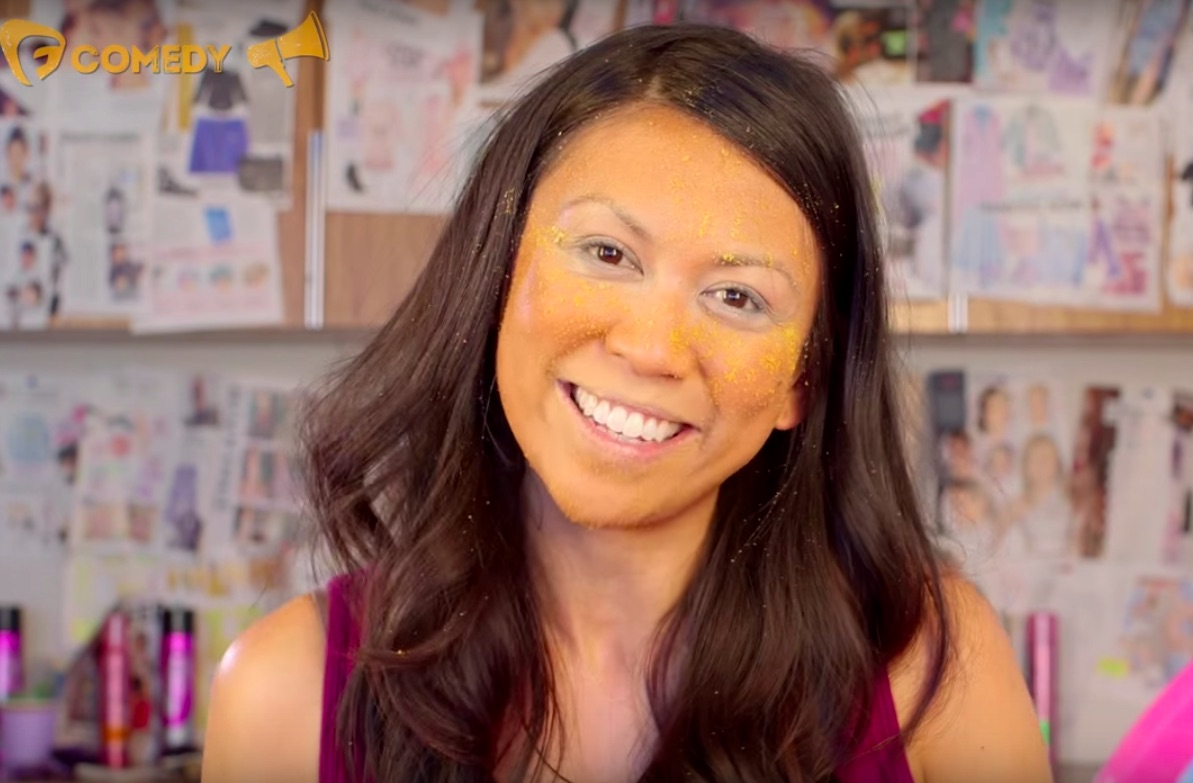There's a Donald Trump makeup tutorial on YouTube, because of course there is