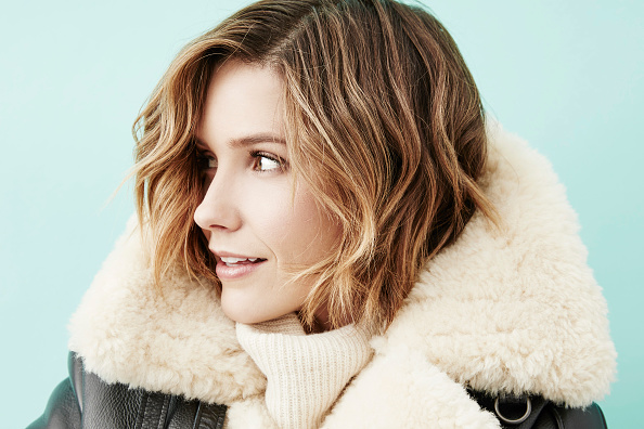 Sophia Bush just KILLED IT in this oversized blazer, and now we've gotta have one