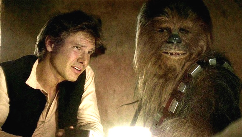 "The next ""Star Wars"" movie will be all about how Han Solo met Chewie"