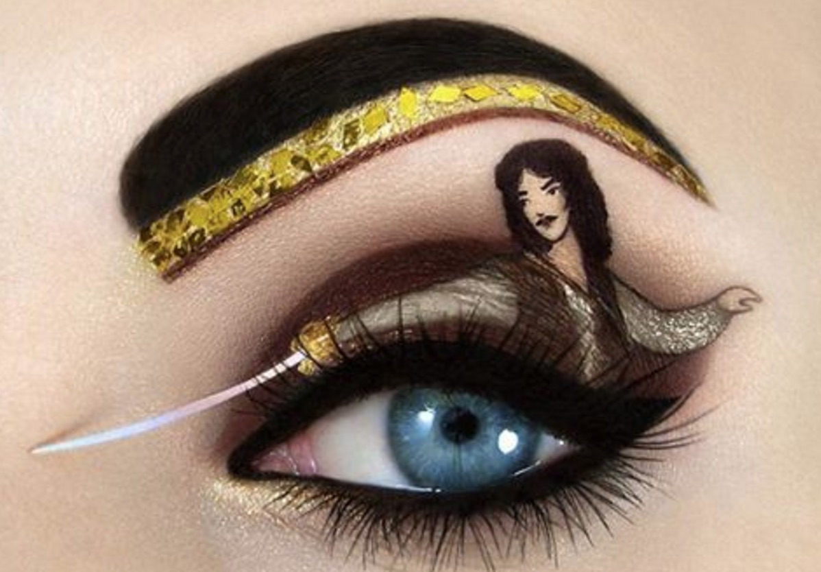 Jaws on the floor: We're in awe of this amazing pop culture eye makeup