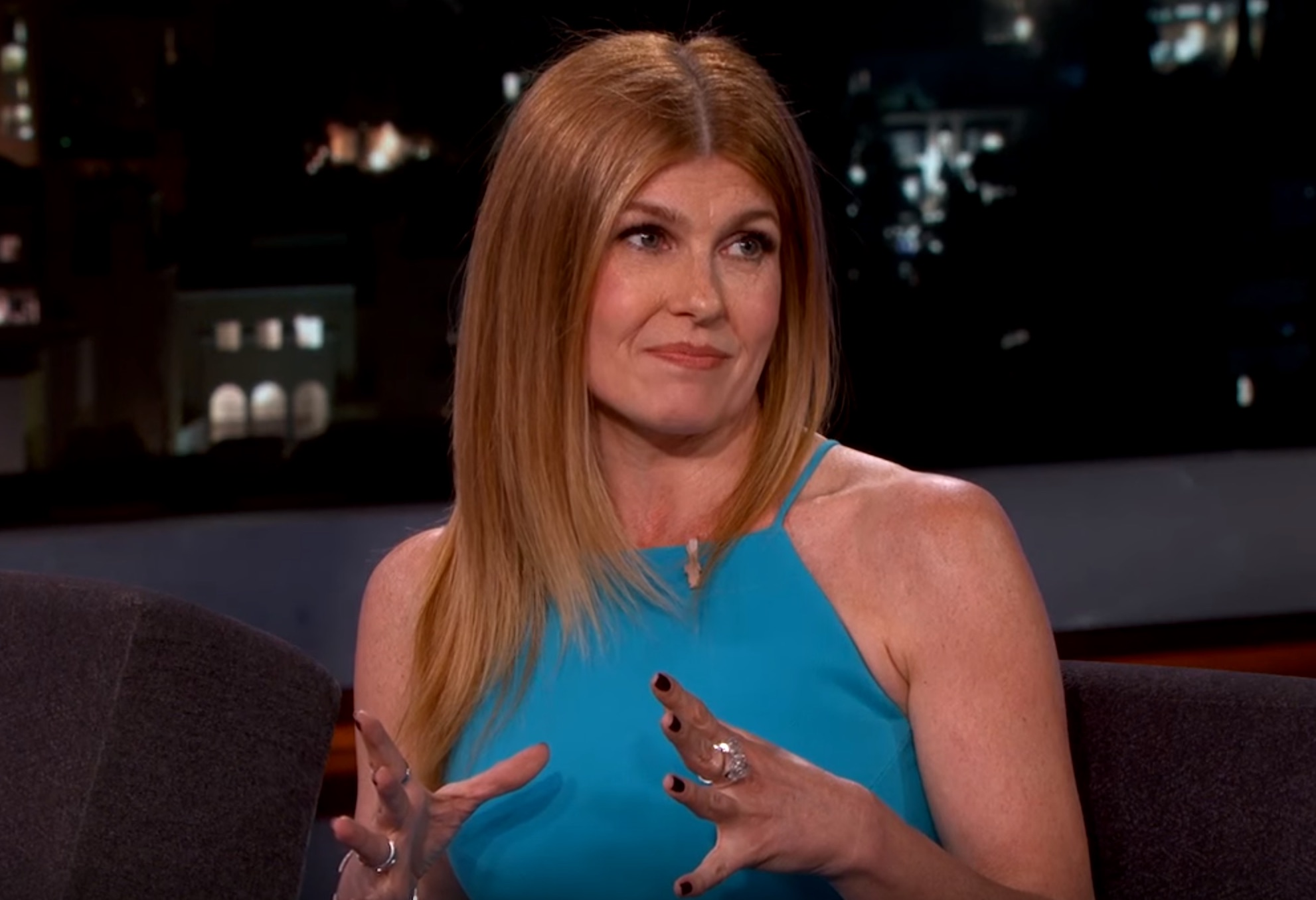 Connie Britton's 5-year-old son is an amazing drummer